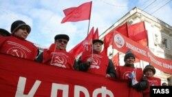 Русия коммунистлары Октябрь инкыйлабының 93 еллыгын искә алды