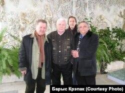 Уладзімер Тоўсьцік, Леанід Шчамялёў, Георгі Скрыпнічэнка, Барыс Крэпак