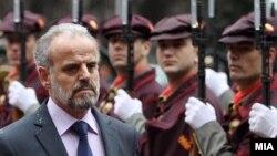 Македонскиот министер за одбрана Талат Џафери
