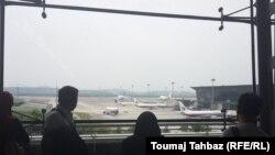Pamje e aeroportit ndërkombëtar në Kuala-Lumpur të Malajzisë