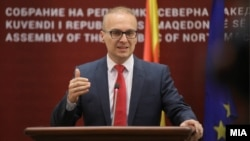 Архивска фотографија- Пратеникот од ВМРО-ДПМНЕ Антонијо Милошоски