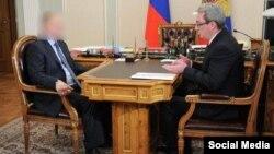 Встреча Вячеслава Гайзера с Путиным, фотожаба пользователей Сети