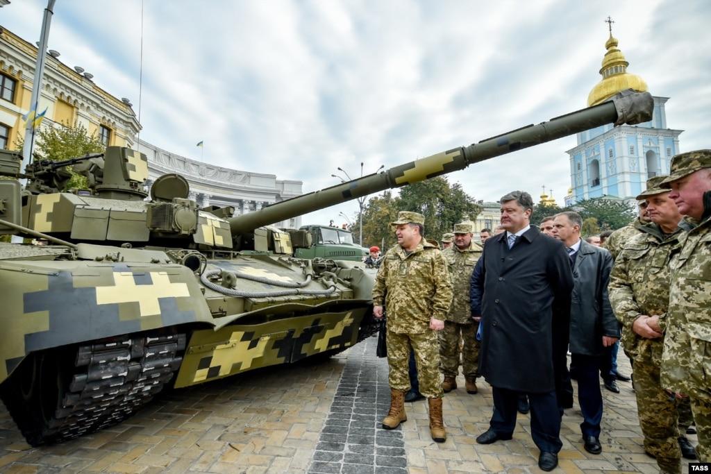 Порошенко дав добро напроведення іноземних військових навчань вУкраїні