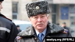 Арман Сарбасов, начальник дорожной полиции Алматы.
