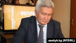 Feliks Kulov, leader of Kyrgyzstan's opposition Ar Namys (Dignity) Party