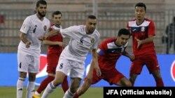 Кыргызстан-Иордания футбол командасы