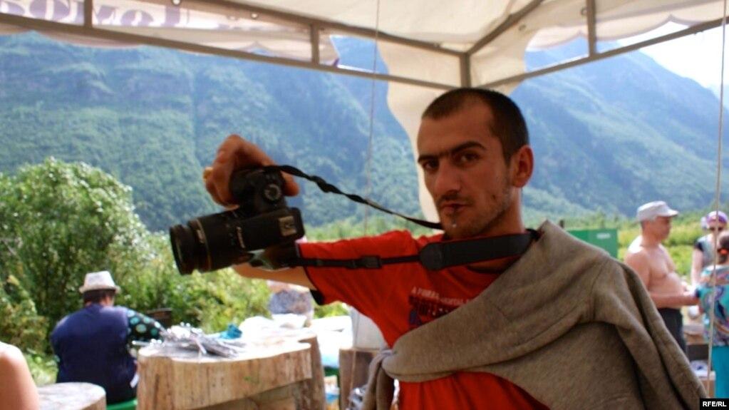 Чанку Рамазанов, Домбай, лето 2017 г.