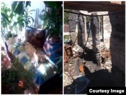 Дом Надежды Заславской до и после войны