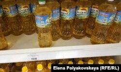 Подсолнечное масло в начале февраля в Москве