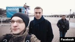 Сергей Командиров и Алексей Навальный