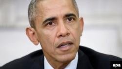 Президент США Барак Обама. Вашингтон, 3 декабря 2015 года.