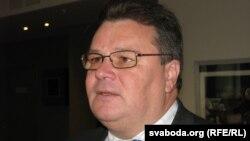 Міністр закордонних справ Литви Лінас Лінкявічус