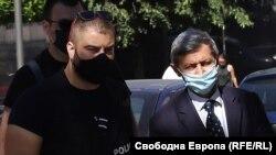 Илия Милушев след задържането си през юли 2020 г.