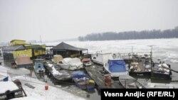 Led na Dunavu