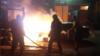 «Схеми» опублікували відео моменту підпалу авто редакції з камер спостереження