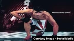 احمد ولی هوتک، ورزشکار رشتۀ ورزشهای رزمی مختلط