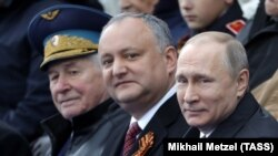 La Parada militară de la 9 mai la Moscova