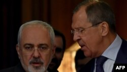 Sergei Lavrov və Mohammad Javad Zarif