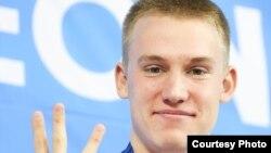 Казахстанский пловец Дмитрий Баландин.