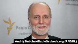 Борис Ґудзяк у студії Радіо Свобода в Києві, 2015 рік