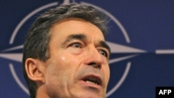 NATO Secretary-General Anders Fogh Rasmussen stressed that Afghanistan presents a key challenge to all NATO members -- not just the United States.