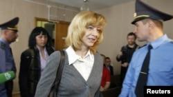 Ирина Халип в суде Заводского района Минска, 11 мая 2011 г