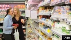 Типичный московский супермаркет