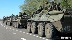 نیروهای روسی دست به انجام رزمایش نظامی در مرز آن کشور با اوکراین زدهاند