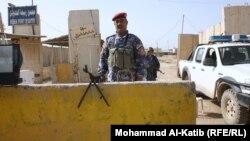 Irački vojnici na jednom od graničnih prelaza