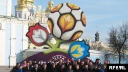 Презентація логотипу Євро-2012, Київ, 14 грудня 2009 року