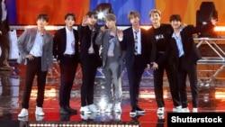 Південнокорейський гурт BTS, заснований у 2013 році