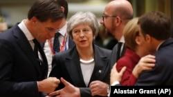 Ұлыбритания премьер-министрі Тереза Мэй ЕО саммитінде. Брюссель, 13 желтоқсан 2018 жыл.