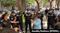 Bokuda politsiya zo'ravonligiga qarshi namoyish -- 16 - iyun, 2020