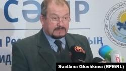 ОСК төрағасының орынбасары Владимир Фоос.