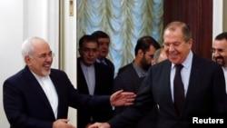 Ministri i jashtëm rus, Sergei Lavrov dhe homologu i tij nga Irani Mohammad Javad Zarif