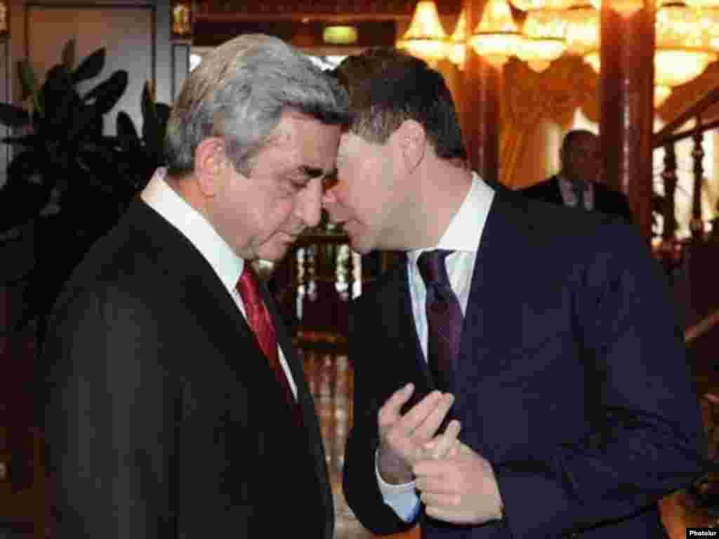 25 yanvar - Soçidə D.Medvedevlə S.Sarkisyanın məsləhətləşməsi