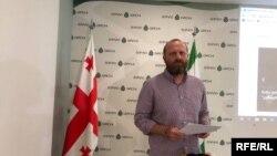 Платформу представилоснователь «Гирчи», экс-кандидат в президенты Грузии Зураб Джапаридзе