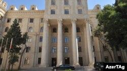 Azərbaycsan xarici işlər nazirliyinin binası