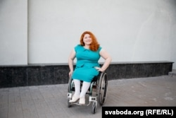 Студэнтка майстэрні Аляксандра Гароднікава