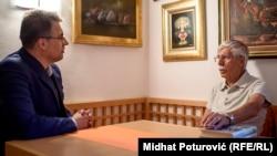 'Razgovarao sam sa Josipom Vidmarom, prvim predsednikom Osvobodilne fronte 1941. godine. On mi je strastveno pričao šta bi trebalo promeniti u Jugoslaviji da bi Slovenci hteli ostati u njoj.' (Ribičić i Štavljanin tokom intervjua)