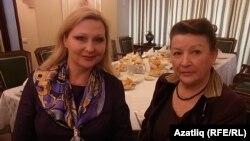 Хөкемдарләр Изольда Сахарова белән Раилә Гарипова