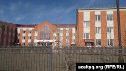 Здание второй Теректинской райбольницы. Западно-Казахстанская область, 11 марта 2020 года.
