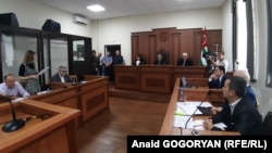 Рассмотрение иска Алхаса Квициниа в Верховном суде, 17 сентября 2019 г.