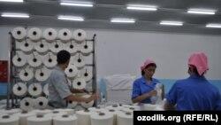 Бухородаги текстил корхонаси.