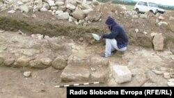 Археолошкиот локалитет Визианус во близина на Куманово.
