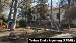 Сельский детский сад на территории бывшей усадьбы Бороздиных-Давыдовых