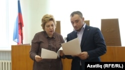 Адвокатлар Нина Любишкина һәм Руслан Нәгыев