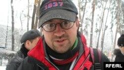 Құқық қорғаушы Андрей Гришин.