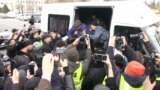 Kazakh Police Detain Dozens Of Activists Ahead Of Opposition Rally video grab