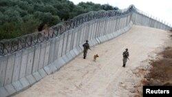 خط مرزی میان ترکیه و سوریه
